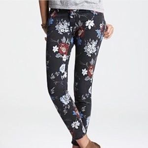 Current Elliott The Stiletto Wildflower Jeans